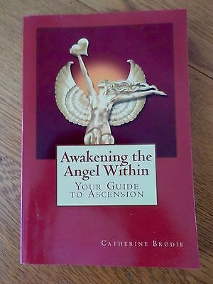 AWAKENING THE ANGEL WITHIN - Book - Your Guide To Ascension by Catherine Brodie