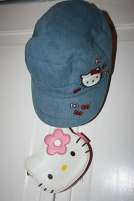 Hello Kitty Hat And Small Clutch Purse