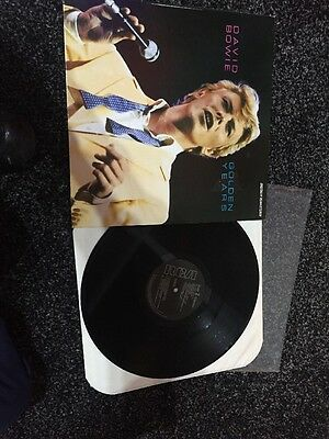 David Bowie Lp Golden  Years Italy Import