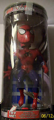 Spider-Man Electronic Talking Bobblehead with Light Up Eyes 10-inch Marvel 2002
