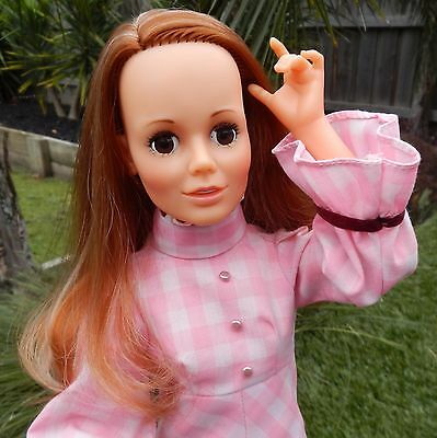 Vintage Ideal HARMONY Doll wearing original outfit & shoes - Crissy Interests