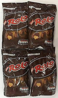 908887 4 x 126g BAGS OF ROLO - MILK CHOCOLATE WITH A SOFT TOFFEE CENTRE - S.A.