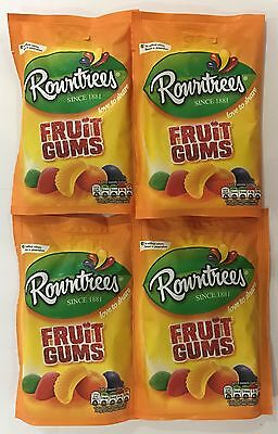 905991 4 x 150g BAGS OF ROWNTREES FRUIT GUMS - LOVE TO SHARE! - SINCE 1881 - UK