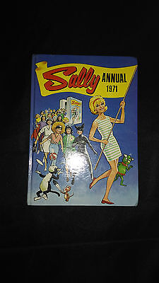 Sally 1971 Vintage Girls Comic Annual