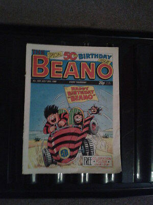 The Beano  Special 50th Issue No 2402 30/07/1988