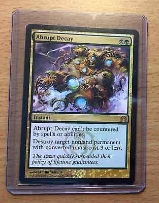 MTG Abrupt Decay (Return to Ravnica) * MINT CONDITION *