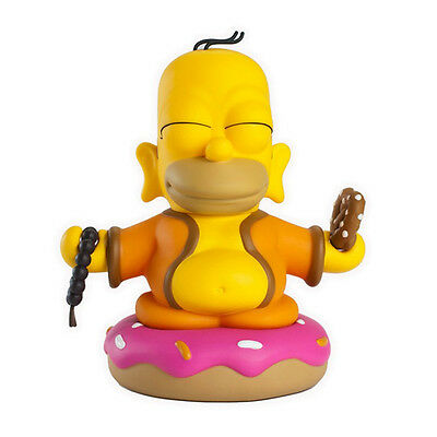 "Kidrobot The Simpsons 3"" Homer Buddha Vinyl Figure Art Toy 