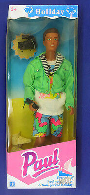 Rare European Sindy's PAUL HOLIDAY new in box 1992 !