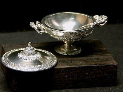 Tureen Louis XV of silver 925 (miniature 1 to 12)