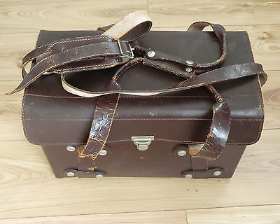 Vintage Leather case for movie film camera accessories