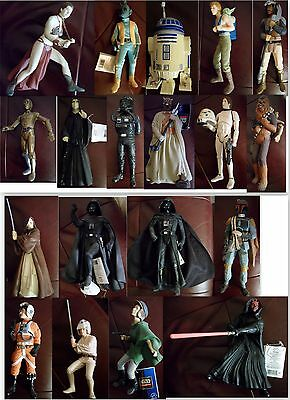 """LOT - 19 POUPEES STAR WARS Applause Classic Collectors Series 10"""" vinyl doll"""