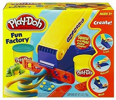 Play-Doh Fun Squeeze Mold Shape Art Creative Colorful Play Kids Set Factory