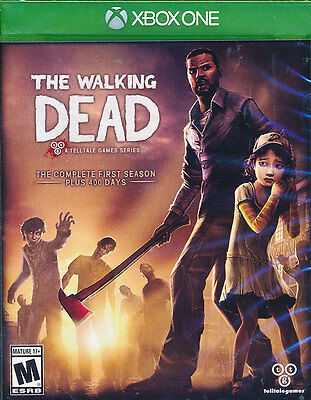 The Walking Dead The Complete First Season Xbox One Game Brand New Sealed