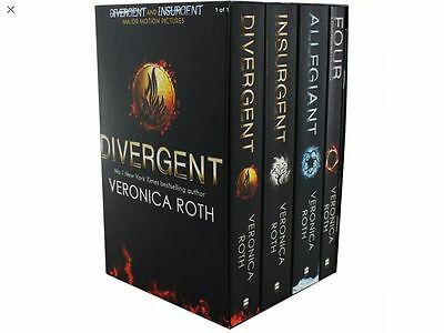 Divergent Series Box Set (Books 1-4 Plus World of Divergent) by Veronica Roth...