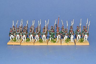 15mm Napoleonic Painted  Russian Musketeer Ru03-3