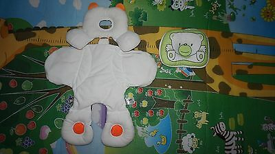 NEW BORN CAR SEAT INSERT AND Flat Head Neck Prevent Infant Support pillow