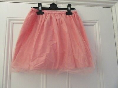 9-10 yrs - Pretty net skirt - Salmon pink - Mini Boden - Party/special occasion