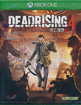 Dead Rising 4 Xbox One Game Brand New Sealed PRE-ORDER
