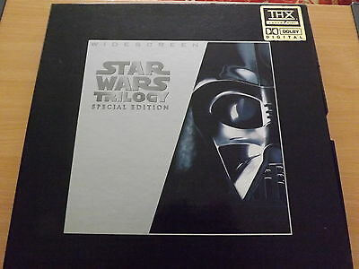 Star Wars Trilogy Special Edition Widescreen Laser Disc Box Set Lucasfilm 1997