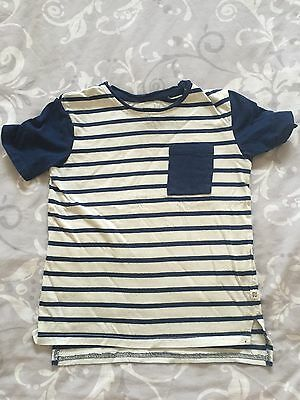 Boys River Island T Shirt 7-8 Years