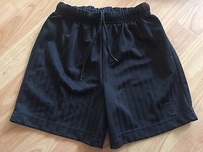 Boys Next Rugby Pe Shorts Black 7 Years