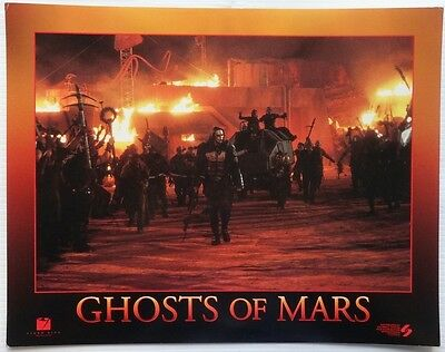 Ghosts of Mars (2001) set of 8 11x14 lobby cards