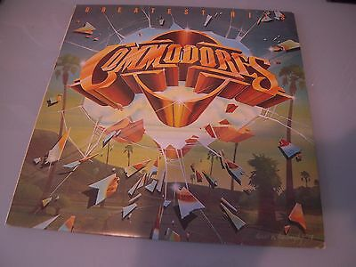 The Commodores 'greatest Hits' Uk Lp