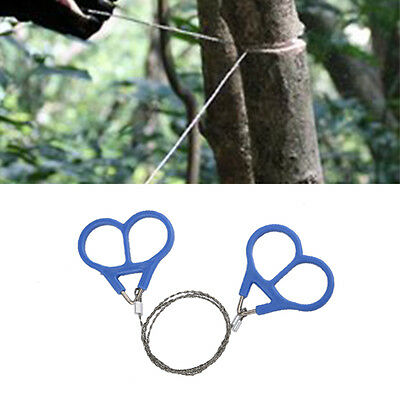 Steel Wire Camping Saw Scroll For Outdoor Survival Emergency Travel Hiking Tool