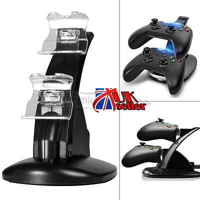 Dual USB Charger Docking Station 5V Charging Stand For Xbox One Game Controller
