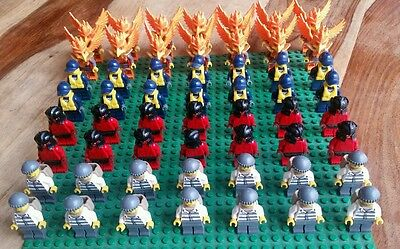 56 x Lego mini figures - 4 different characters NEW OTHER giant set