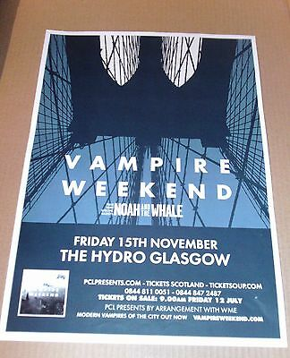 VAMPIRE WEEKEND - live music tour concert / gig poster