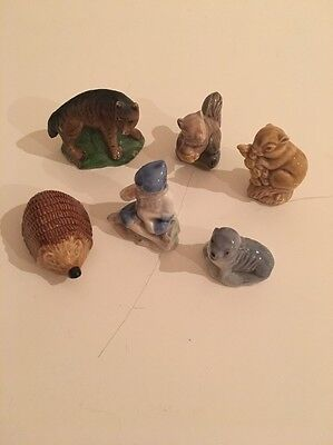 Wade Whimsies Collection - Elf, Chipmonk, Hedgehog, Squirrel & Others
