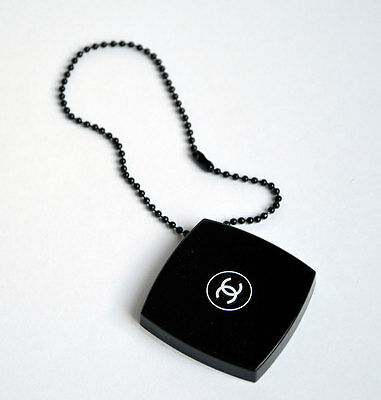 New VIP gift from Chanel beauty counter small mirror charm with chain NEW
