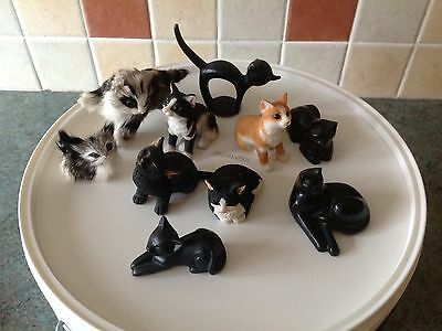 miniature cat collection