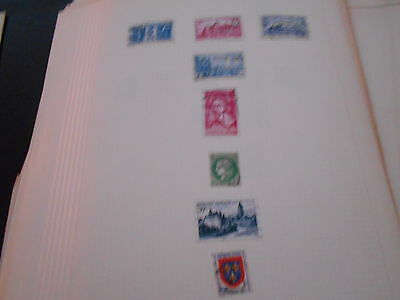 8 rep / francaise stamps