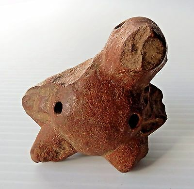 Pre-Columbian Bird Form Pottery with chips