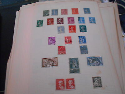 25 rep / francaise stamps