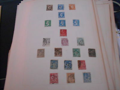 21 rep / francaise stamps