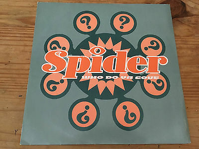 Spider - Who Do Ya Love - Ten Records - UK 12''