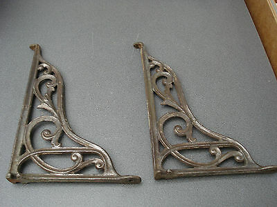Original Cast Iron Wall Brackets Shelf Toilet Cistern Parts Spares