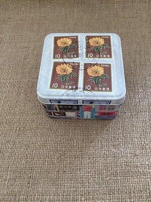 FOSSIL Watch Empty Collectible Tin Box