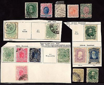 Stamps ~ BRAZIL Mixed SOUTH AMERICA Early ~ Unsorted #1