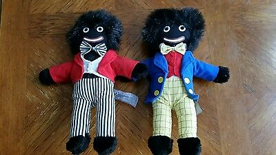 "2 Minstrel Dolls From Embrace Classic Soft Toy Collection 12"" Plush"