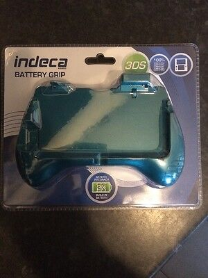 Nintendo 3ds Handheld Rechargeable Battery Grip (indeca) New And Sealed