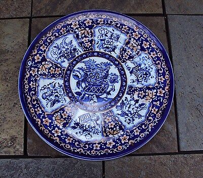 Old Oriental Plate - Maker Unknown - Imperial Flowers?