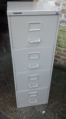 A four drawer filing cabinet - no key