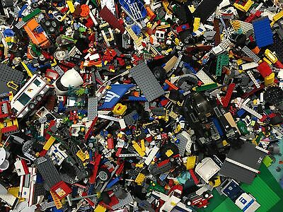 2 lbs Pounds 100% Lego Parts Pieces from BIG BULK LOT Star Wars, city etc