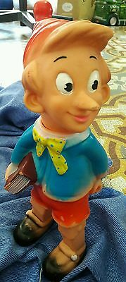 Rubber toys - Pinocchio vintage squeaky toys pupazzo gomma vintage 60s