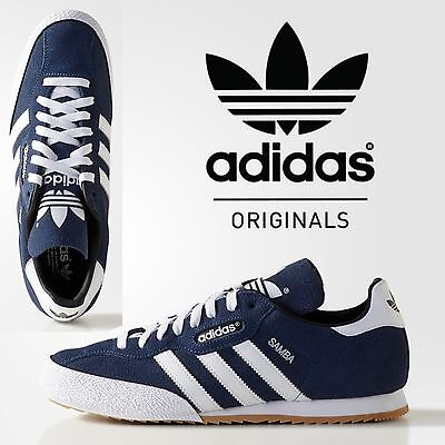 bcfc0fd70ac ADIDAS ORIGINALS SUPER Samba Suede Mens Trainers Retro