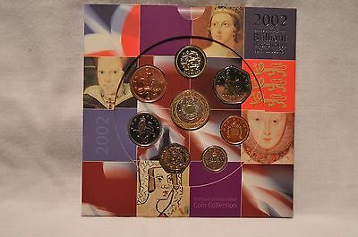 2002 United Kingdom Brilliant Uncirculated Coin Collection